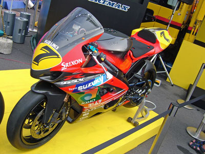 展示されていたバイク1