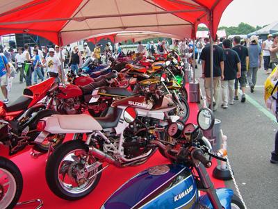 展示されていたバイク2