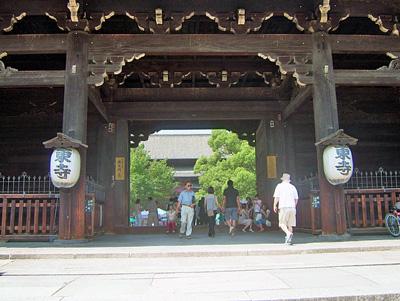 東寺正面の写真